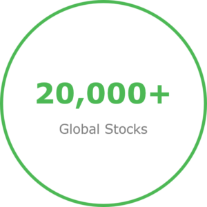 22000 Global Stocks in Vue