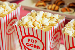 An image of popcorn for our entertainment Vue